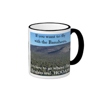 Chasing Elk Hunting Coffee Mug Death from Above