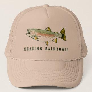 Chasing Rainbow Trout Trucker Hat