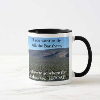 Chasing the Bull Elk Hunting Coffee Mug