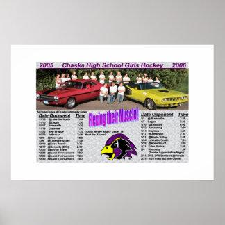 Chaska Girls Hockey Poster