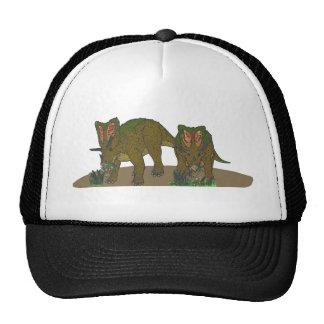 Chasmosaurus browsing cap