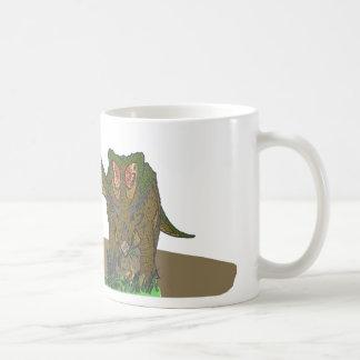 Chasmosaurus browsing mugs