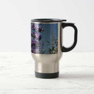 Chaste Tree Purple Flowers Travel Mug