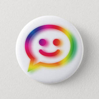 Chat Chat Chat 6 Cm Round Badge