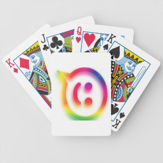 Chat Chat Chat Bicycle Playing Cards