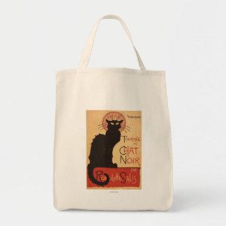 Chat Noir Cabaret Troupe Black Cat Promo Poster Canvas Bag