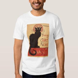 Chat Noir Cabaret Troupe Black Cat Promo Poster T-shirt