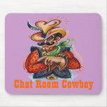"""""""Chat Room Cowboy"""" (c) OriginalConcept Mousepads"""