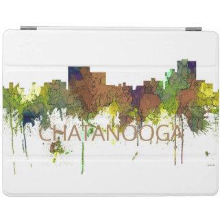 Chatanooga Tennessee Skyline Safari Buff iPad Cover