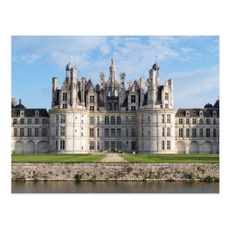 Chateau Chambord, France beautiful photo postcard