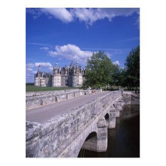 Chateau Chambord Loire Valley France Postcard