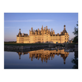 Chateau Chambord, Loire Valley, France Postcard