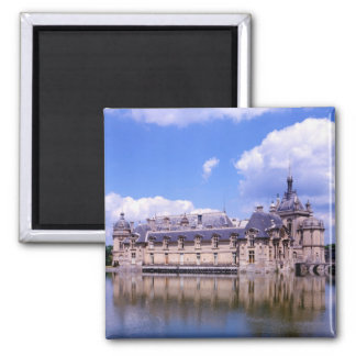 Chateau Chantilly, Oise, France Magnet
