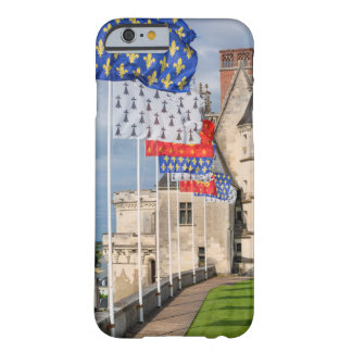 Chateau d'Amboise and flag, France Barely There iPhone 6 Case
