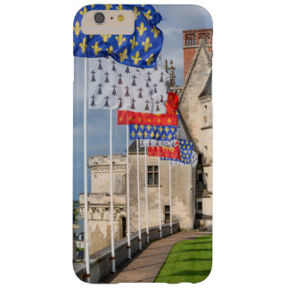 Chateau d'Amboise and flag, France Barely There iPhone 6 Plus Case