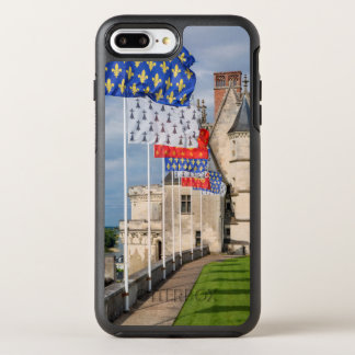 Chateau d'Amboise and flag, France OtterBox Symmetry iPhone 8 Plus/7 Plus Case