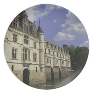 Chateau de Chenonceau in France Plate