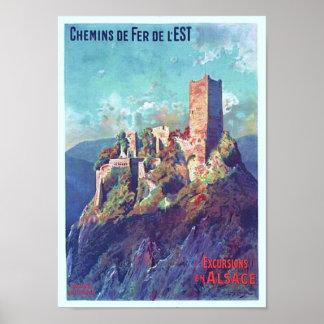 Chateau de St. Ulrich Poster