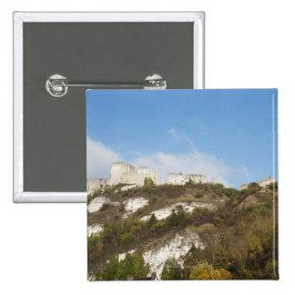 Chateau Gaillard 15 Cm Square Badge