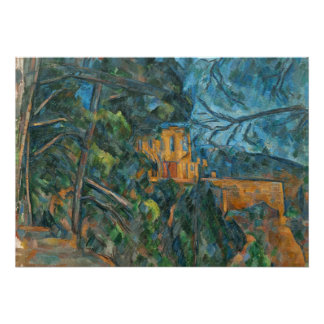 Chateau Noir, 1900-04 (oil on canvas) Poster