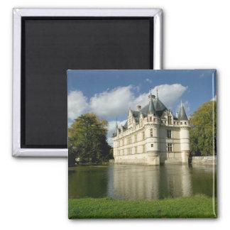 Chateau of Azay-le-Rideau, Indre-et-Loire, 2 Square Magnet