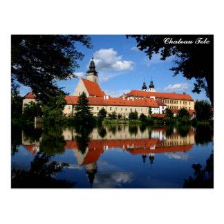 Chateau Telc Postcard
