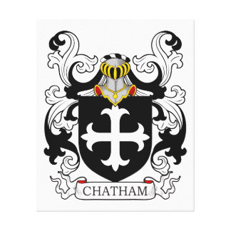 Chatham Coat of Arms I Canvas Print