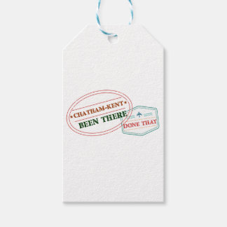 Chatham-Kent Been there done that Gift Tags