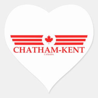 CHATHAM-KENT HEART STICKER