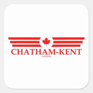 CHATHAM-KENT SQUARE STICKER