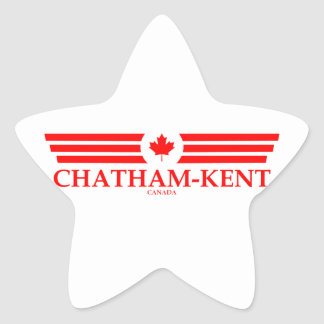 CHATHAM-KENT STAR STICKER