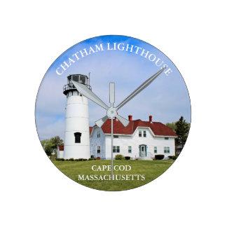 Chatham Lighthouse, Cape Cod Massachusetts Clock