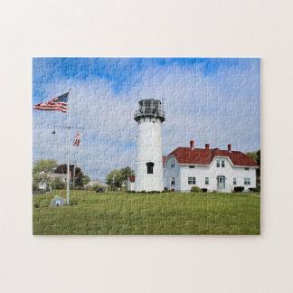 Chatham Lighthouse, Cape Cod Massachusetts Jigsaw Puzzle