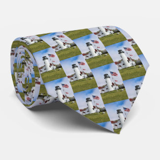 Chatham Lighthouse Cape Cod Massachusetts Mens Tie