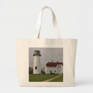 Chatham Lighthouse Large Tote Bag