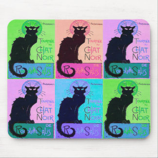 Chats Noir Black Cats Mouse Pad