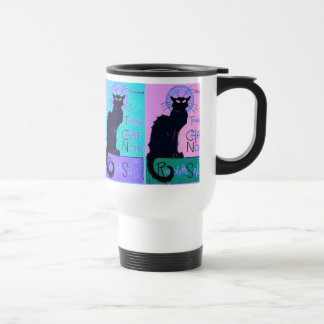 Chats Noir (Black Cats) Travel Mug