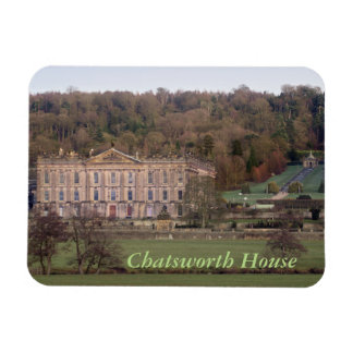 Chatsworth House Rectangular Photo Magnet