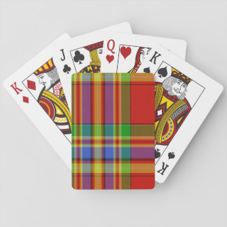 Chattan Scottish Tartan Playing Cards