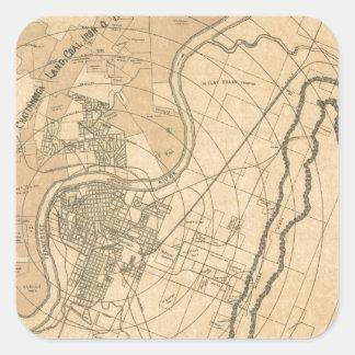 chattanooga1870 square sticker
