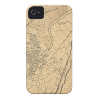 Chattanooga Tennessee 1870 iPhone 4 Case