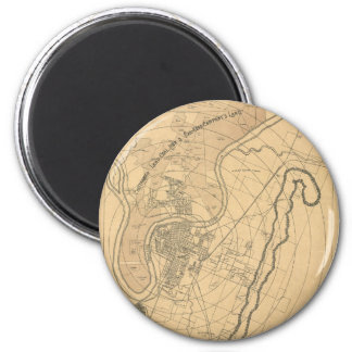 Chattanooga Tennessee 1870 Magnet