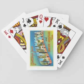 Chattanooga Tennessee TN Vintage Travel Souvenir Playing Cards