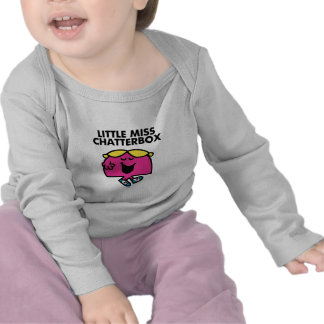 Chatting With Little Miss Chatterbox T Shirts