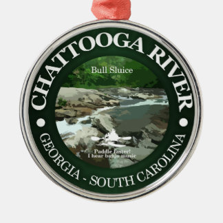 Chattooga River (C) Metal Ornament