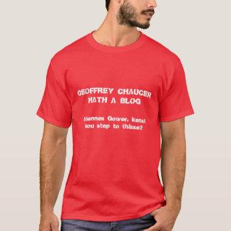 Chaucer Blog: Step up, Gowere T-Shirt
