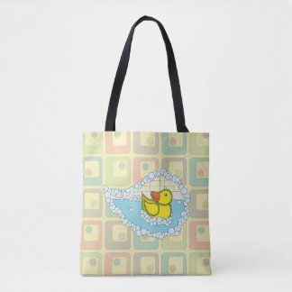 Chaucer the Rubber Duck All-Over-Print Bag