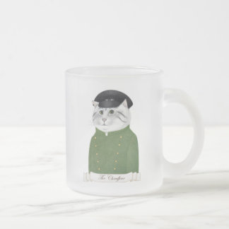 Chauffeur Cat Frosted Mug