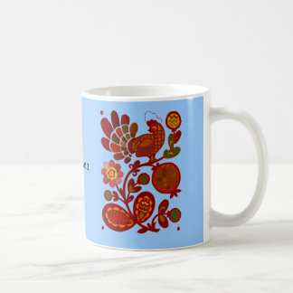 Chaunticleer Red Rooster Mug