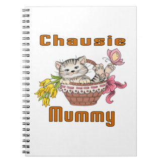 Chausie Cat Mom Spiral Notebook